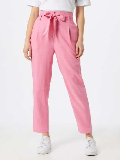 FRNCH PARIS Pleat-front trousers in Pink, View model