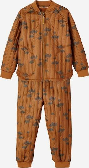 NAME IT Functioneel pak in de kleur Bruin / Grijs, Productweergave