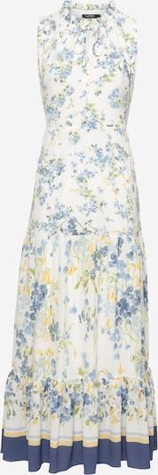 Lauren Ralph Lauren Mekko 'GRETTA' värissä kerma / laivastonsininen / vaaleansininen / keltainen / vaaleanvihreä, Tuotenäkymä