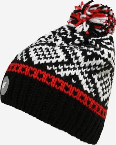 4F Športová čiapka - červená / čierna / biela, Produkt