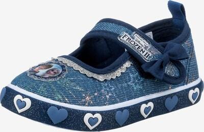 Disney Die Eiskönigin Hausschuh in marine / silber, Produktansicht