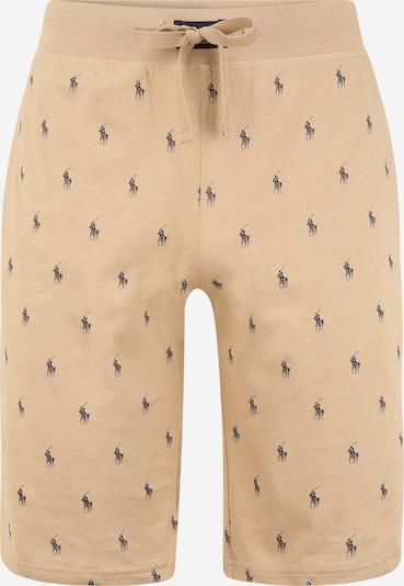 POLO RALPH LAUREN Pyžamové nohavice - béžová / námornícka modrá, Produkt