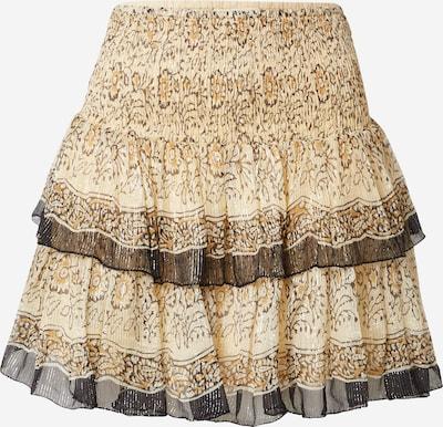 Mes Demoiselles Suknja 'HIBOU' u smeđa / oker / svijetlosmeđa, Pregled proizvoda