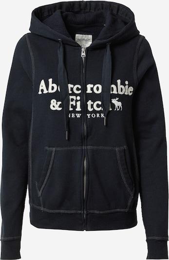 Abercrombie & Fitch Sweatvest in de kleur Zwart / Wit, Productweergave