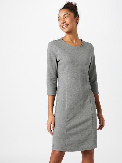 Cartoon Casual-Kleid mit 3/4 Arm in grau / schwarz, Modelansicht