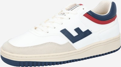 Flamingos' Life Sneakers low 'RETRO 90's' in Light beige / Navy / Red / White, Item view