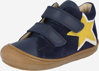 NATURINO Lauflernschuh 'FREY' in dunkelblau / gelb / weiß, Produktansicht