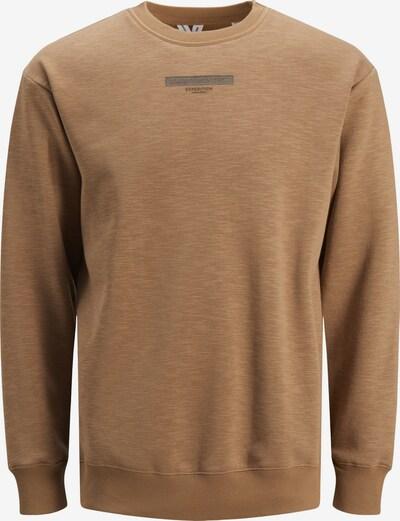 JACK & JONES Sweatshirt in braun, Produktansicht
