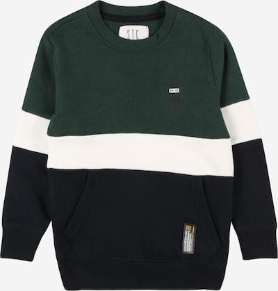 STACCATO Sudadera en verde / negro / blanco, Vista del producto