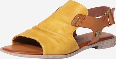 MUSTANG Sandále - hnedá / horčicová, Produkt
