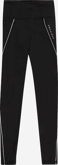 Röhnisch Pantalon de sport en noir / blanc, Vue avec produit