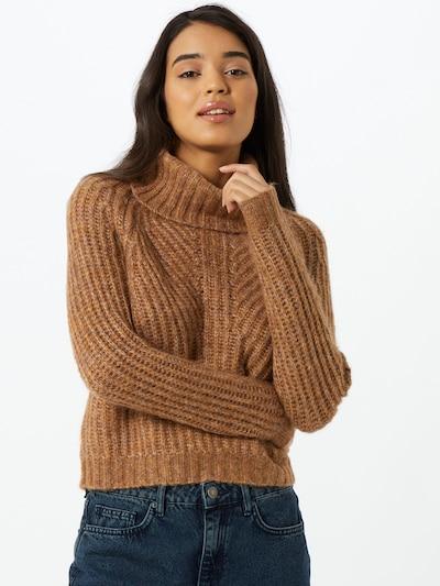 ONLY Jersey en camelo / marrón / amarillo, Vista del modelo