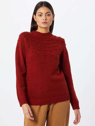 VILA Pullover in rot, Modelansicht