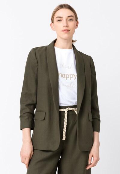 HALLHUBER Blazer in khaki, Modelansicht