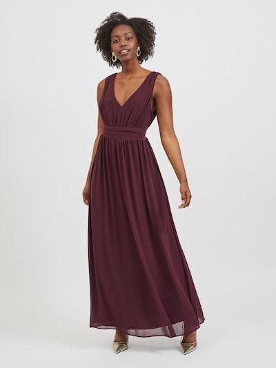 Rochie de seară 'Milina' VILA pe roșu vin, Vizualizare model
