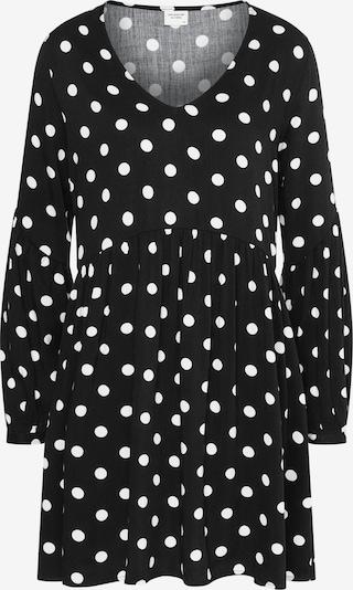 JDY Kleid 'Kate' in schwarz / weiß, Produktansicht