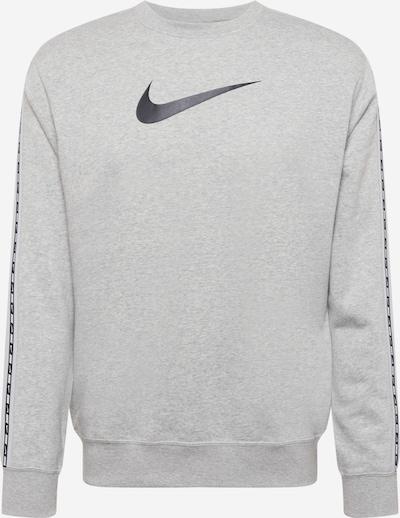 Bluză de molton Nike Sportswear pe gri închis / negru, Vizualizare produs