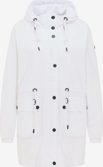 DreiMaster Maritim Tussenparka in de kleur Wit, Productweergave