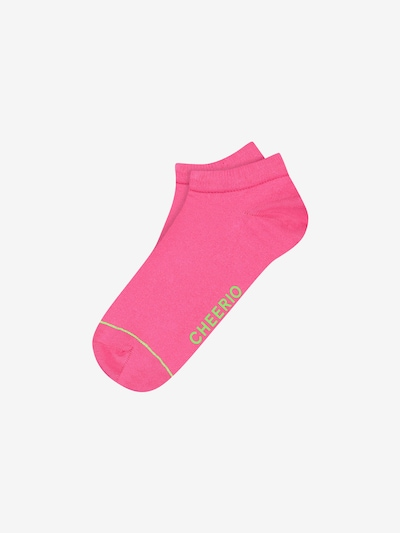 CHEERIO* Ankle socks 'SNEAKER PAL' in Pink, Item view