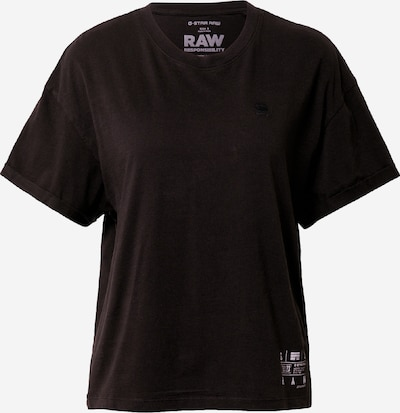 G-Star RAW Тениска 'Carrni' в черно / бяло, Преглед на продукта