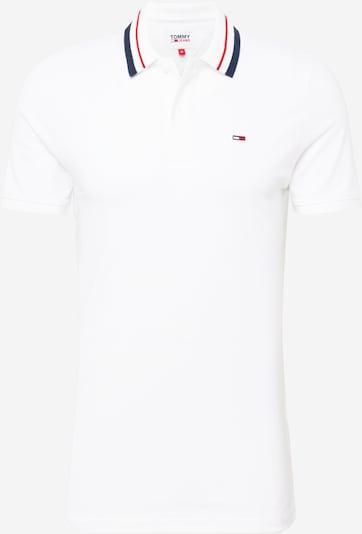 Tommy Jeans T-Shirt en marine / rouge / blanc, Vue avec produit