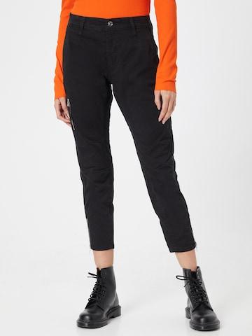 Pantaloni 'Rich' de la MAC pe negru
