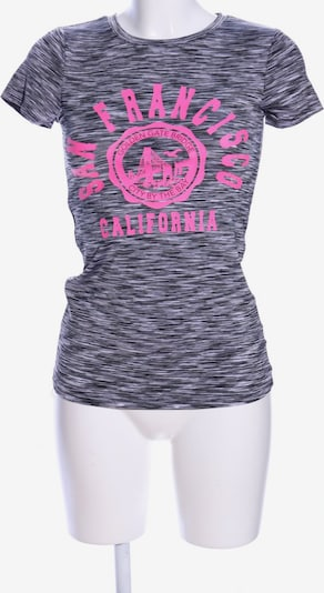 Ambiance T-Shirt in S in hellgrau / pink, Produktansicht