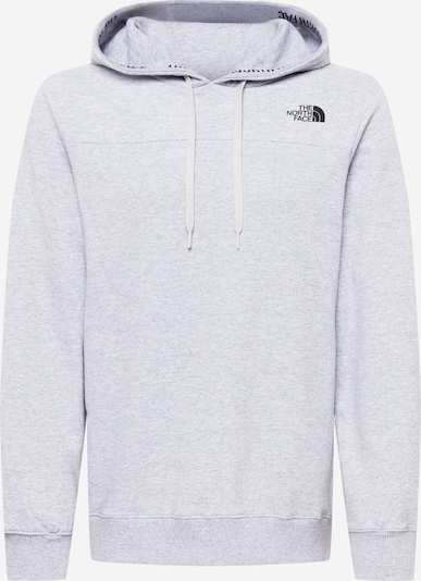 THE NORTH FACE Athletic Sweatshirt in Light grey / Black, Item view