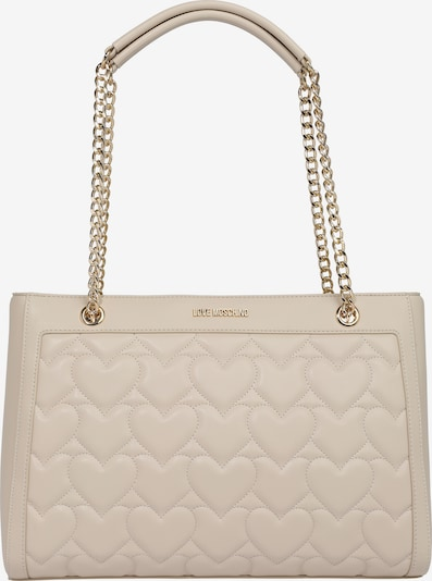 Love Moschino Handtasche 'BORSA QUILTED PU AVORIO' in beige, Produktansicht