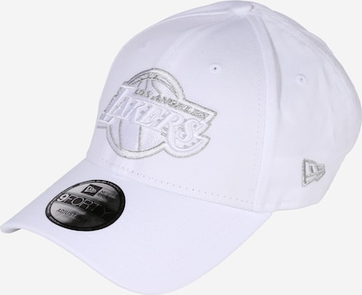 NEW ERA Cap '9FORTY' in Black / Silver / Off white, Item view