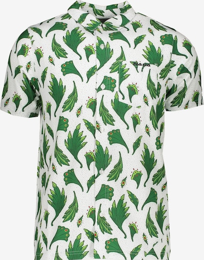 NIKE Hemd in grün / weiß, Produktansicht