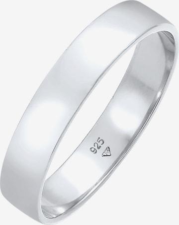 KUZZOI Ring Bandring in Silber