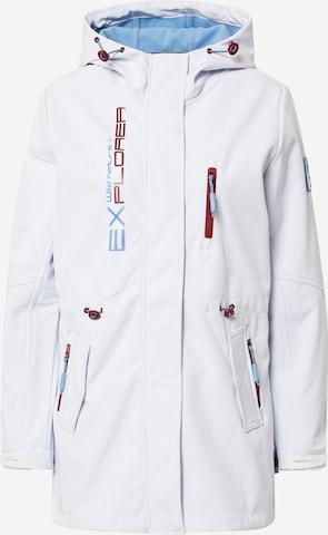 Sublevel Jacke in Weiß