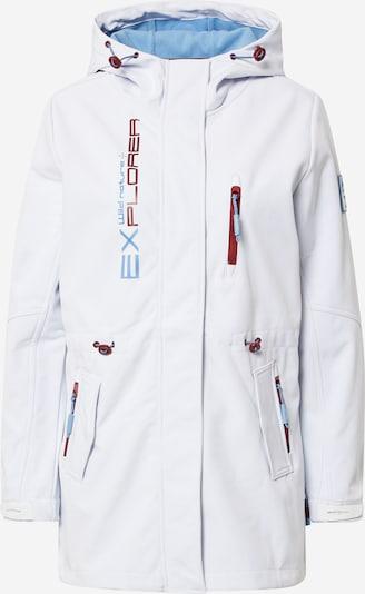 Sublevel Jacke in blau / rot / weiß, Produktansicht