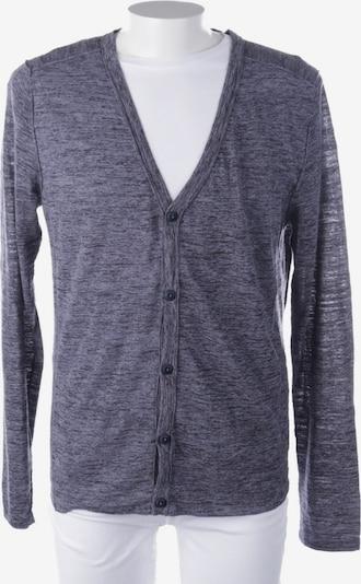 DRYKORN Cardigan in XL in blaumeliert / schwarz, Produktansicht