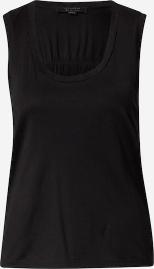 AllSaints Haut 'Tessa' en noir, Vue avec produit