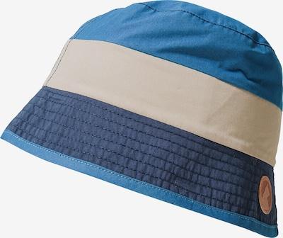 FINKID Hut 'Lasse' in beige / blau / navy: Frontalansicht