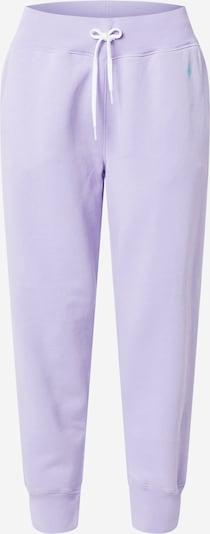 POLO RALPH LAUREN Pantalon en violet, Vue avec produit