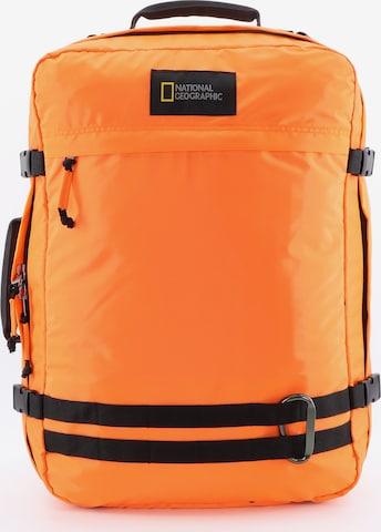 National Geographic Rucksack 'Hybrid' in Orange