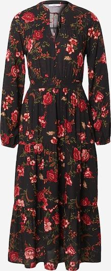 ONLY Kleid 'NOVA' in oliv / dunkelgrün / orange / rot / schwarz, Produktansicht