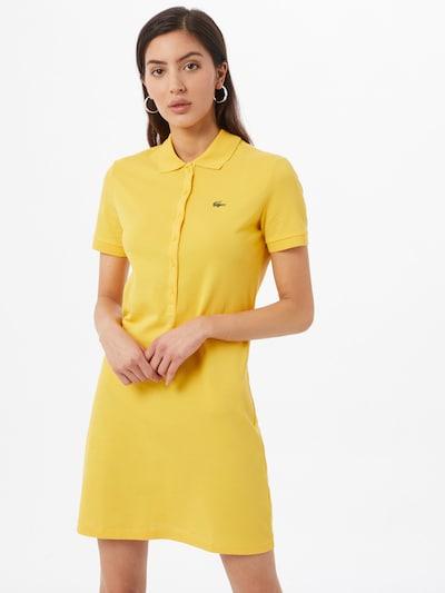 LACOSTE Kleid in gelb, Modelansicht