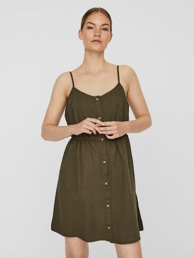 VERO MODA Kleid in khaki, Modelansicht