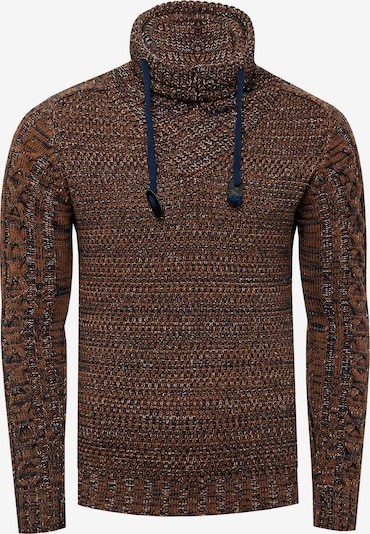 Rusty Neal Pullover in camel, Produktansicht