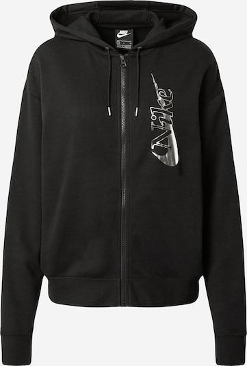Nike Sportswear Veste de survêtement en noir, Vue avec produit
