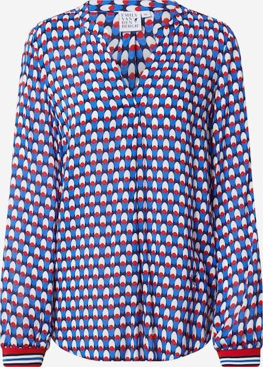 Emily Van Den Bergh Bluza u plava / mornarsko plava / crvena / bijela, Pregled proizvoda