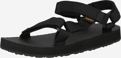 Sandale TEVA pe negru, Vizualizare produs