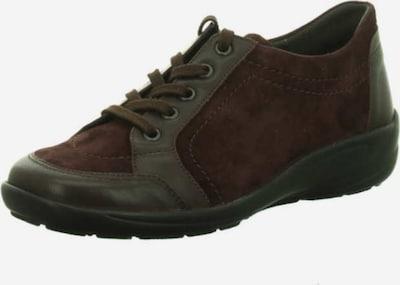 SEMLER Schnürschuhe in burgunder / schwarz, Produktansicht