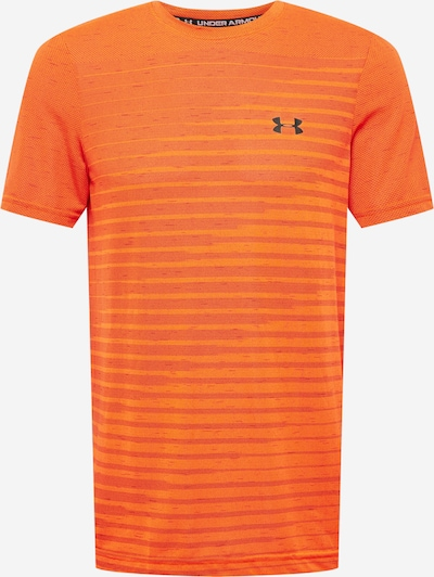 UNDER ARMOUR Tehnička sportska majica 'Seamless' u narančasta / crvena / crna, Pregled proizvoda