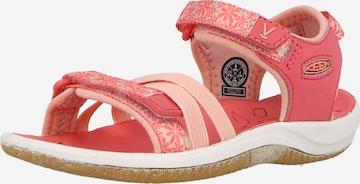 KEEN Sandaal 'VERANO', värv roosa