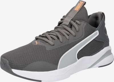 PUMA Buty sportowe w kolorze jasnoszary / ciemnoszary / pomarańczowy / białym, Podgląd produktu